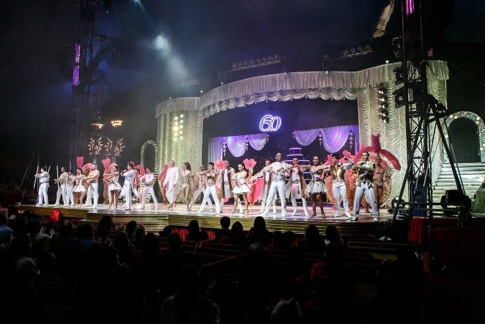 Circo Tihany faz promoção especialna semana do Dia dos Pais