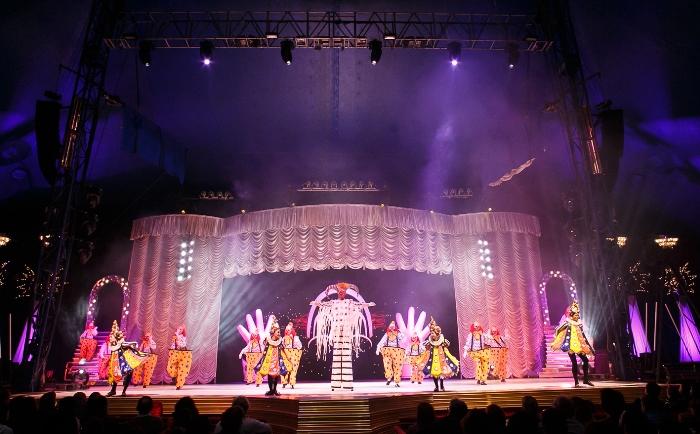 Circo Tihany Spectacular sedespede de Caxias do Sul
