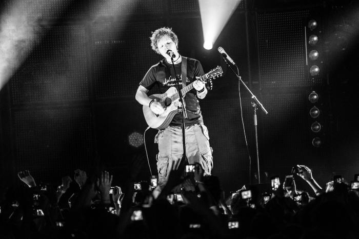 GNC Cinemas Iguatemi Caxias exibefilme-concerto de Ed Sheeran