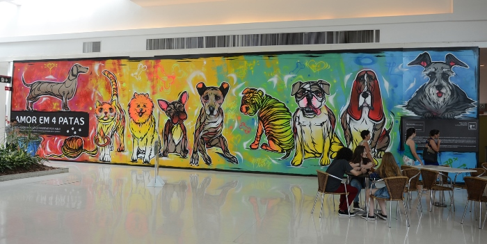 Iguatemi Caxias adereao movimento pet friendly