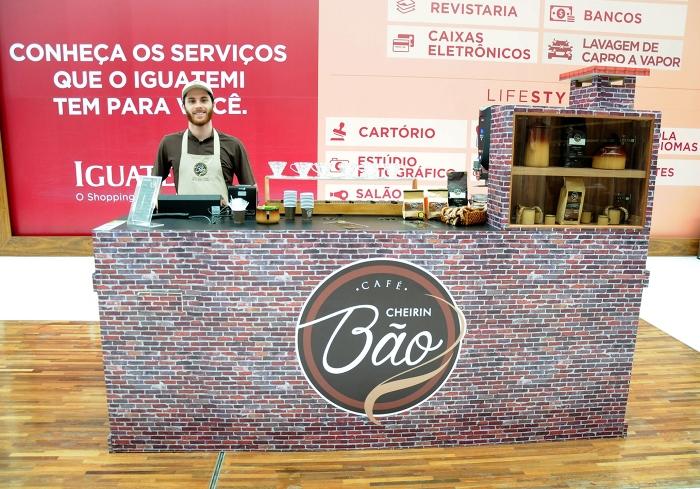 Cheirin Bão invade o Iguatemi Caxias