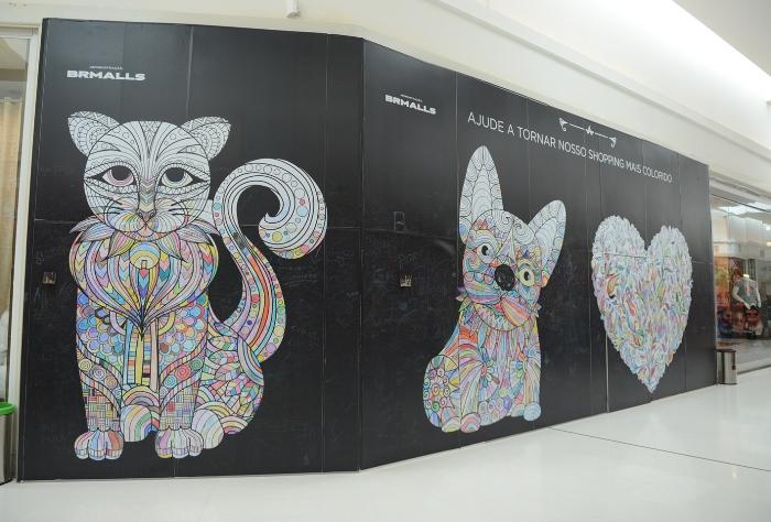 Um convite à pinturano Iguatemi Caxias
