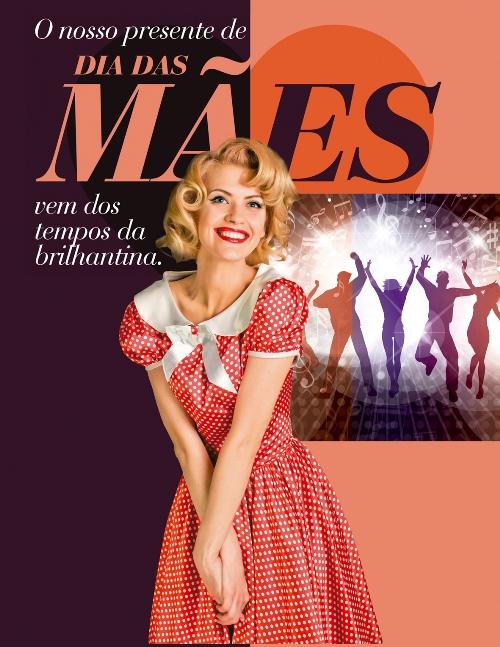 De volta aos anos 50 no Dia das Mães Iguatemi Caxias