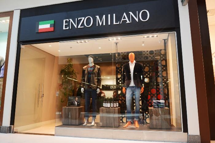 Enzo Milano desembarca no Iguatemi Caxias