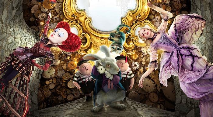 Alice através do Espelho no CineMaterna Iguatemi Caxias