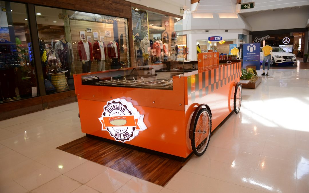 Villaggio Hot Dog é o novo quiosque do Iguatemi Caxias
