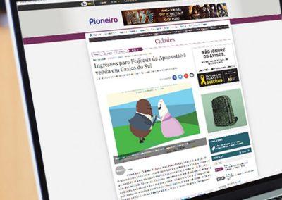 Apae no Jornal Pioneiro