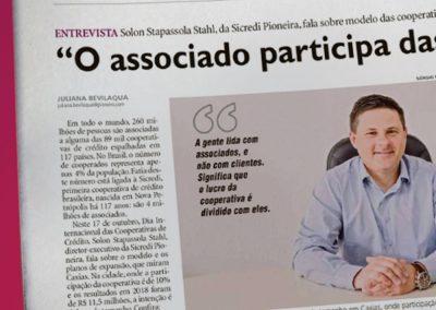 Entrevista – Sicredi Pioneira