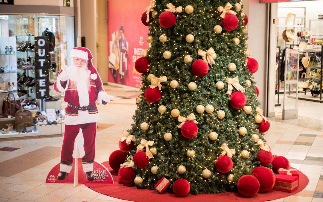 Prataviera Shopping lança campanha 'Presente do seu jeito: 10 mil pratas de Natal'