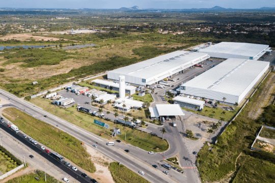 Abertura de Centro Logístico no Ceará